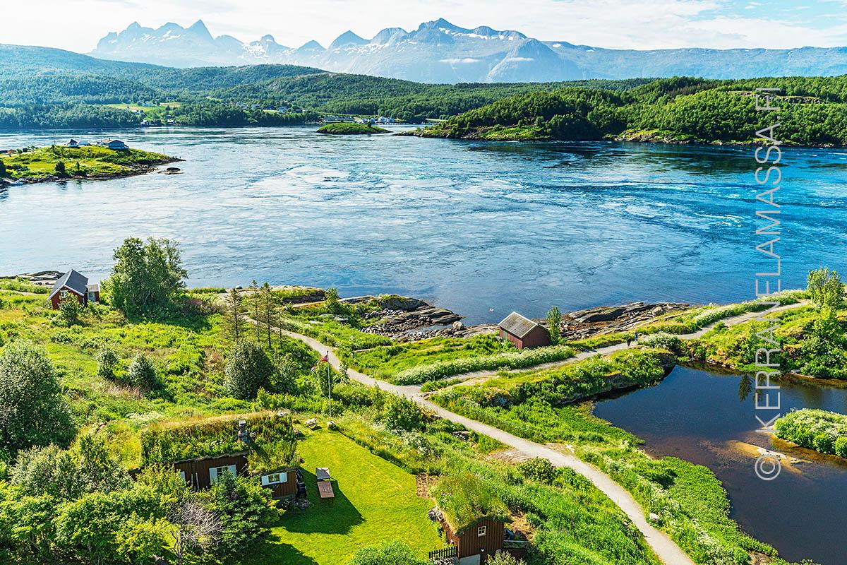 Norja Helgeland vuorovesivirta