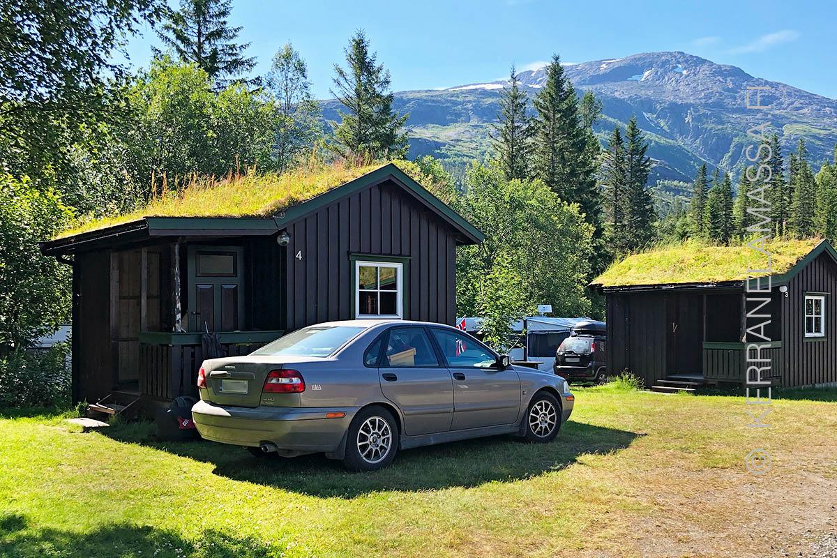 Norja Helgeland leirintäalue
