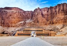 egypti temppeli Hatshepsut