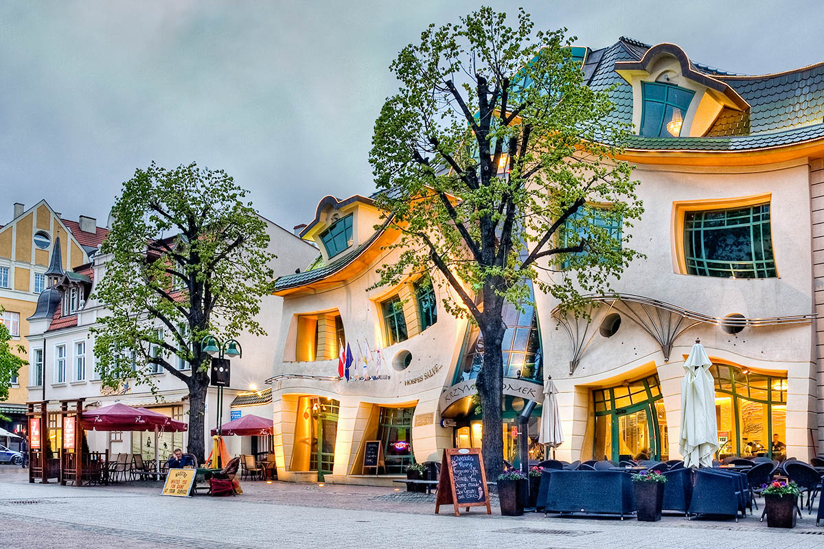 sopot crooked house