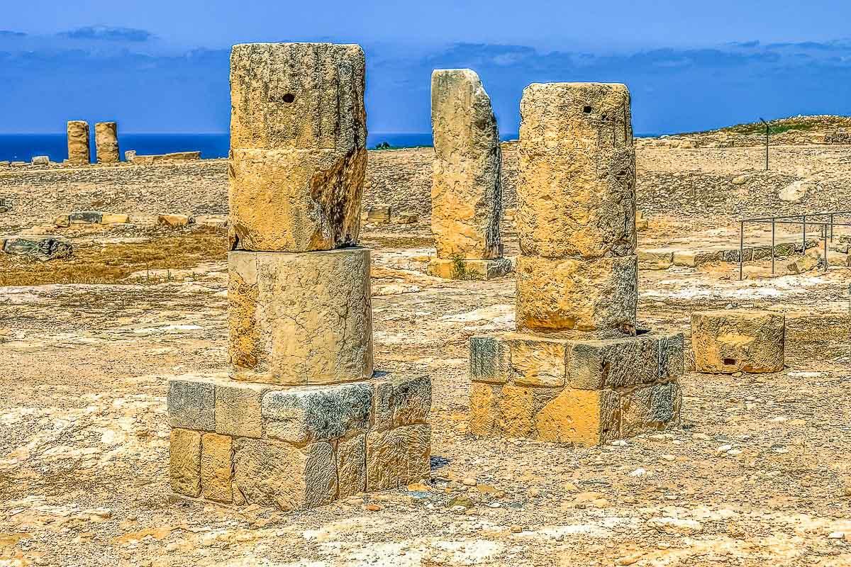 Afroditen temppeli Kypros