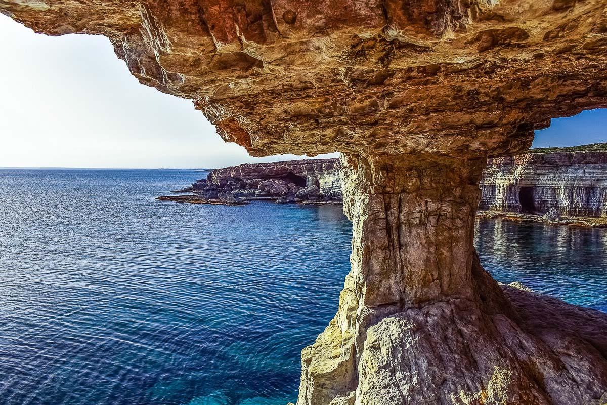 Cape Greco maisema Kypros
