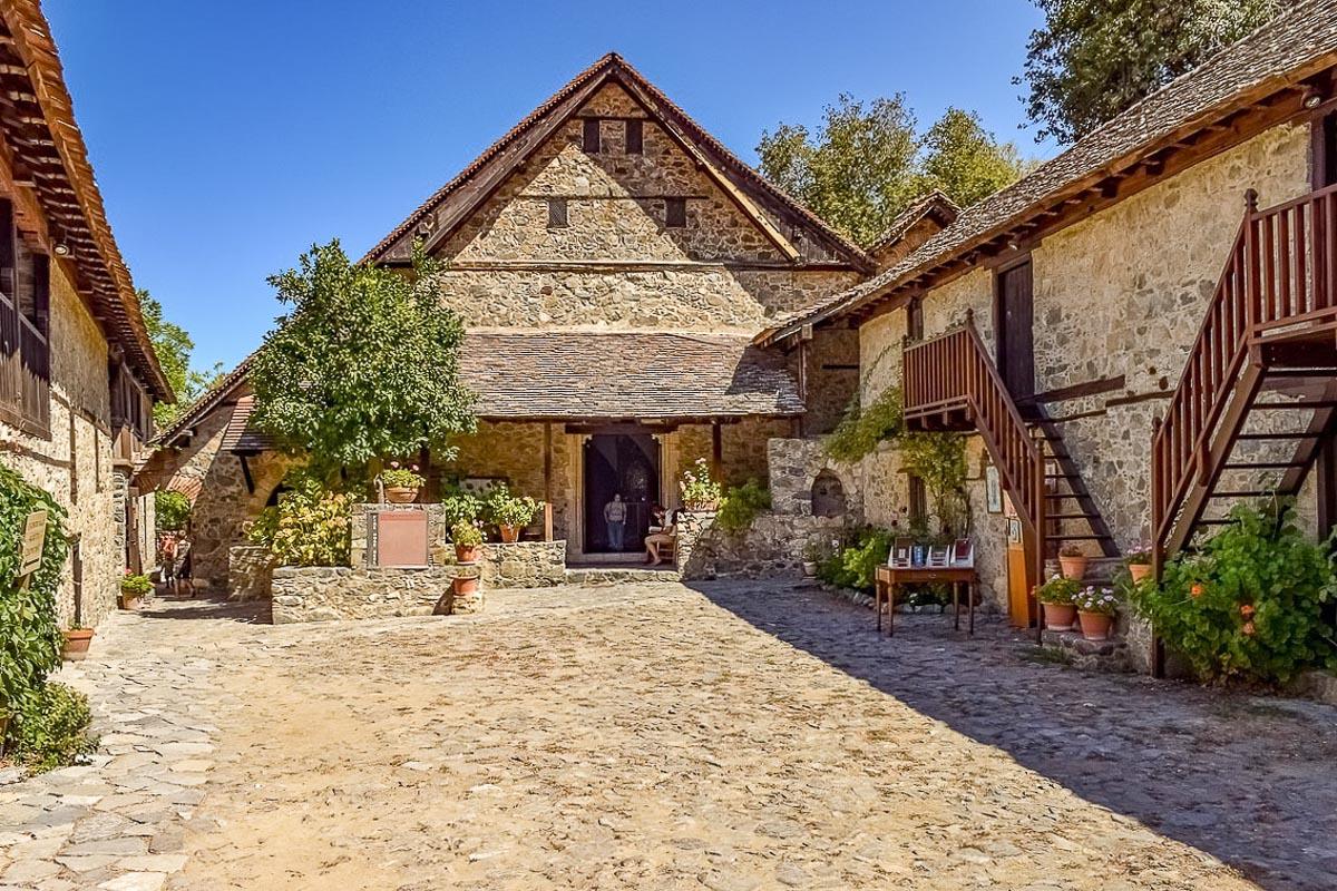 Kypros Troodos luostari