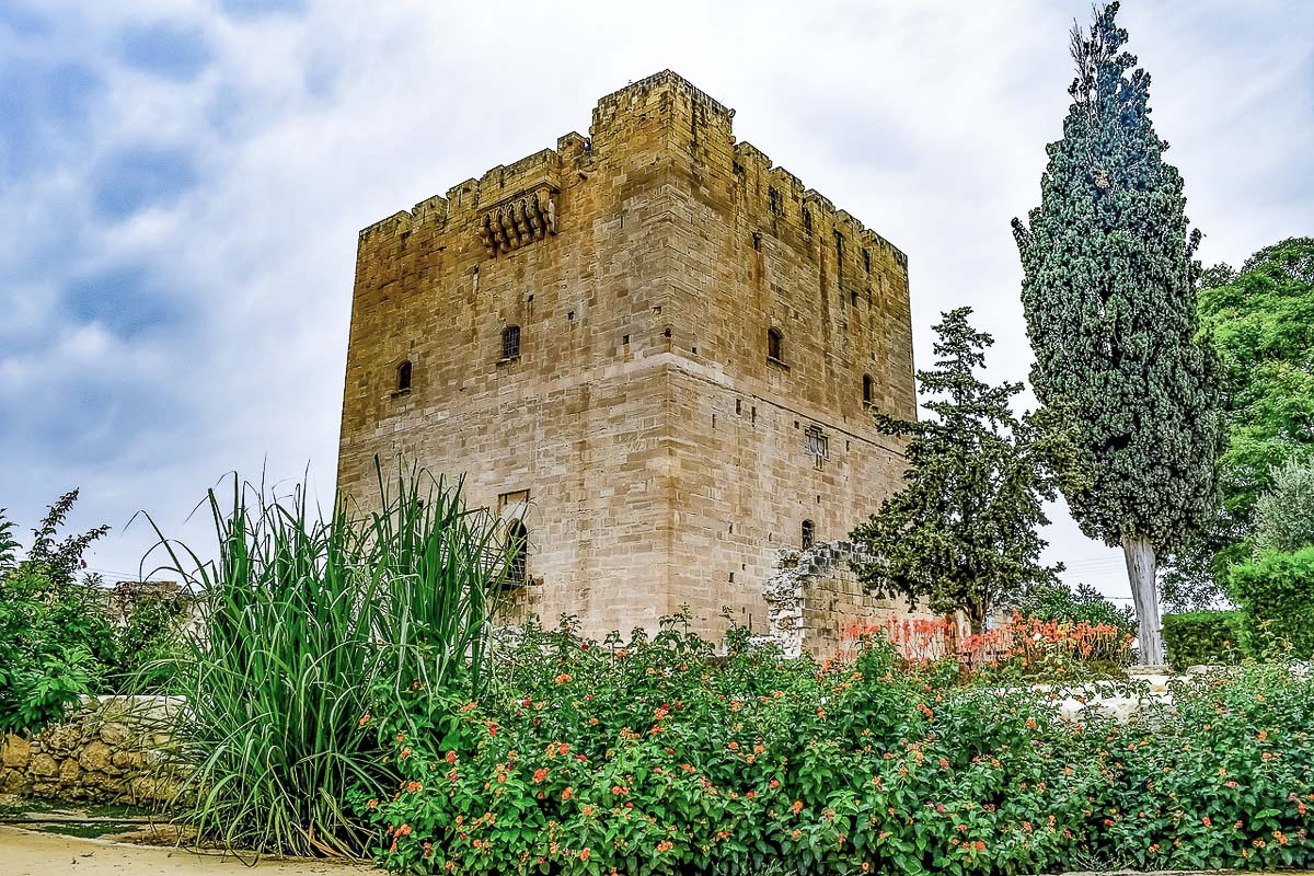 Kolossi linna Limassol