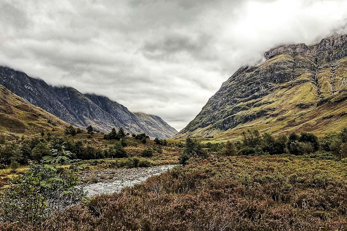 Skotlanti Glen Coe