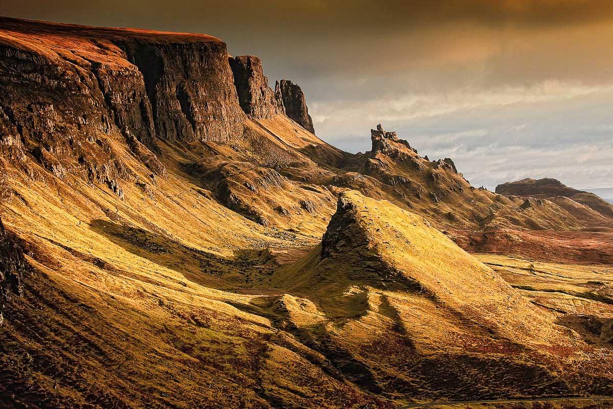 Skotlanti saaret maisema
