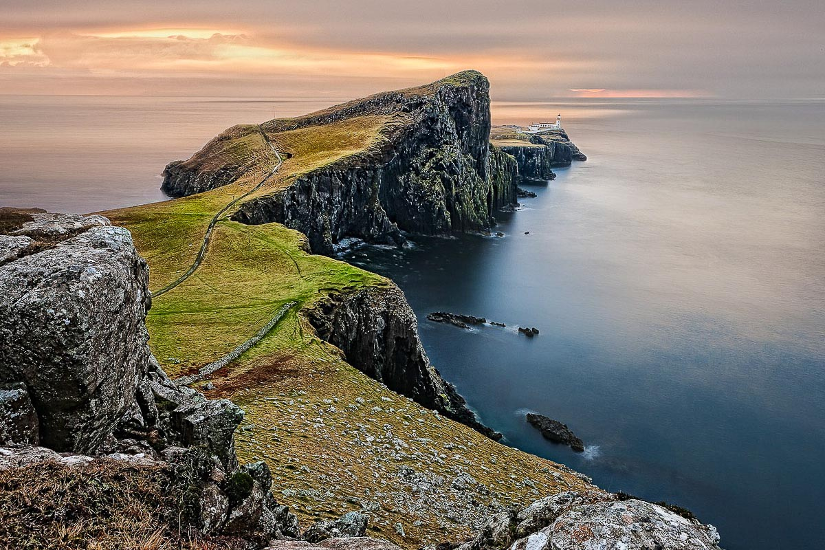 Neist Point majakka Isle of Skye