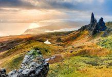 Skotlanti maisema