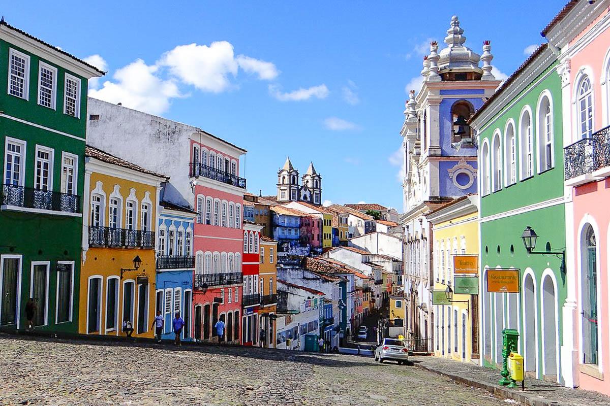 Brasilia nähtävyys Salvador
