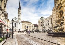 Wien Mozart kirkko
