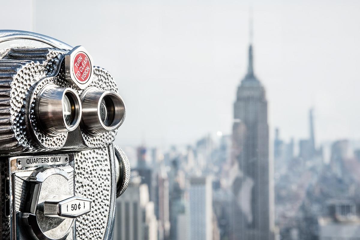 Top of the Rock New Yorkin paras näköalapaikka