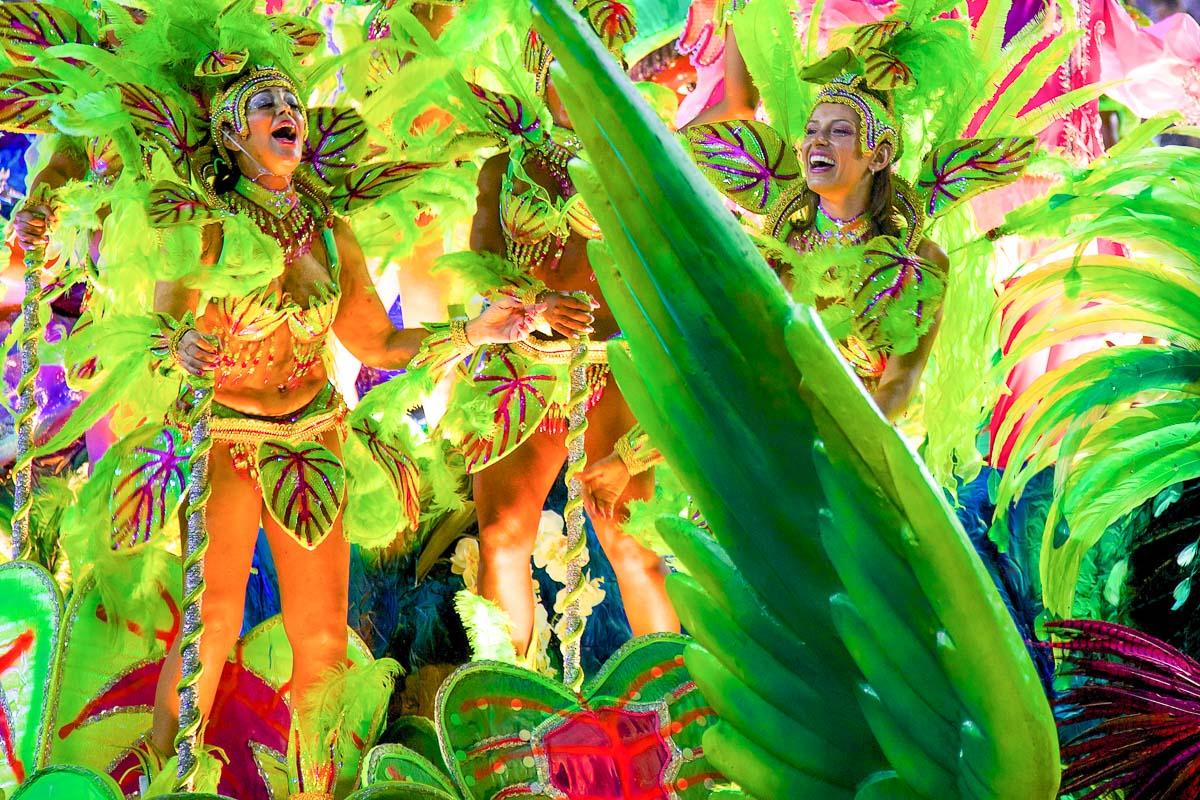 Rio de Janeiro karnevaalit