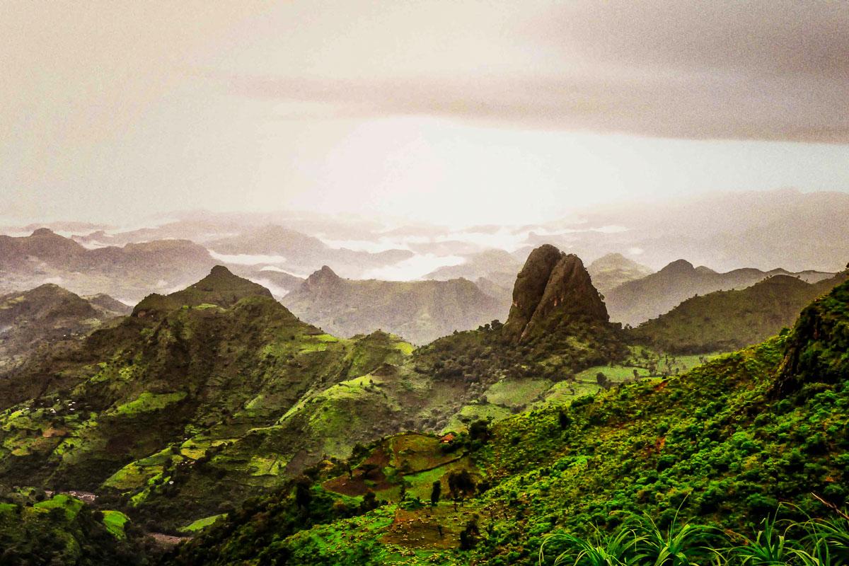 Etiopia vuoristo