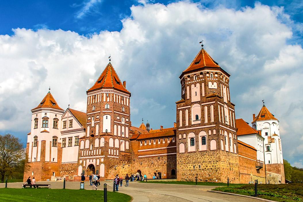 Valko-Venäjä nähtävyydet