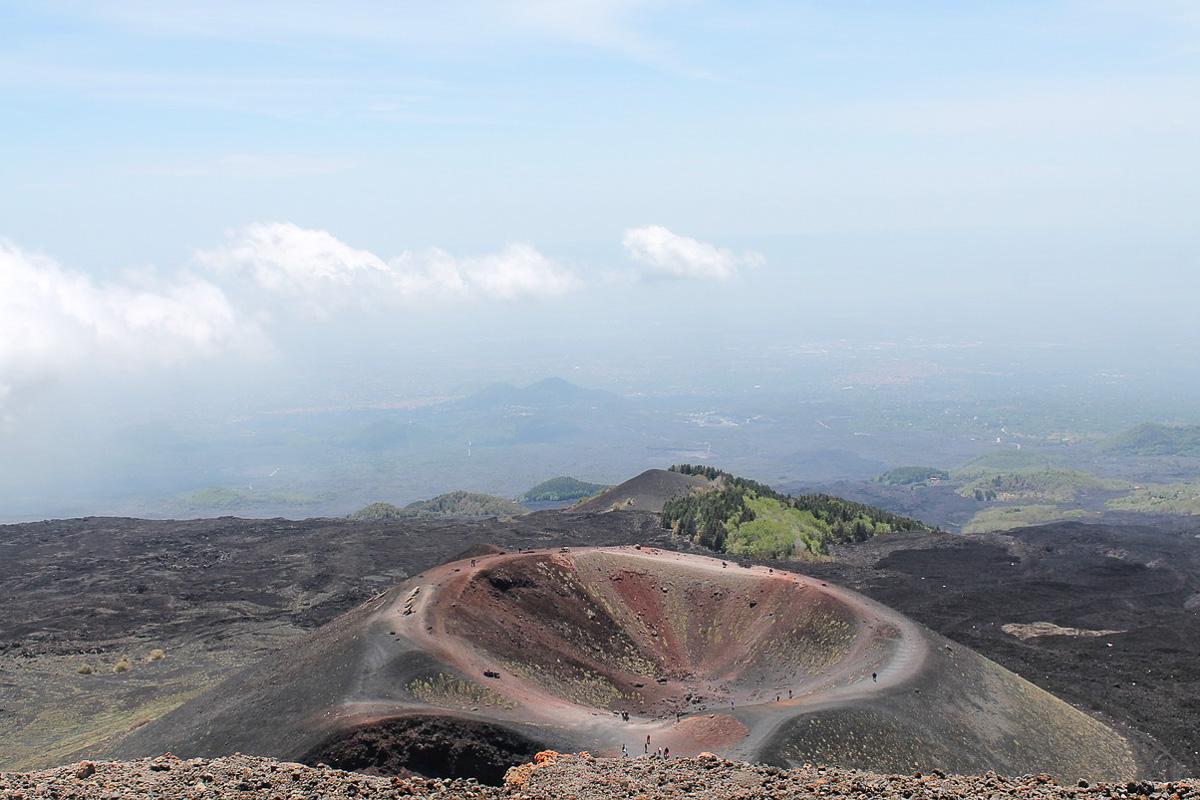 Etna kraatteri Sisilia