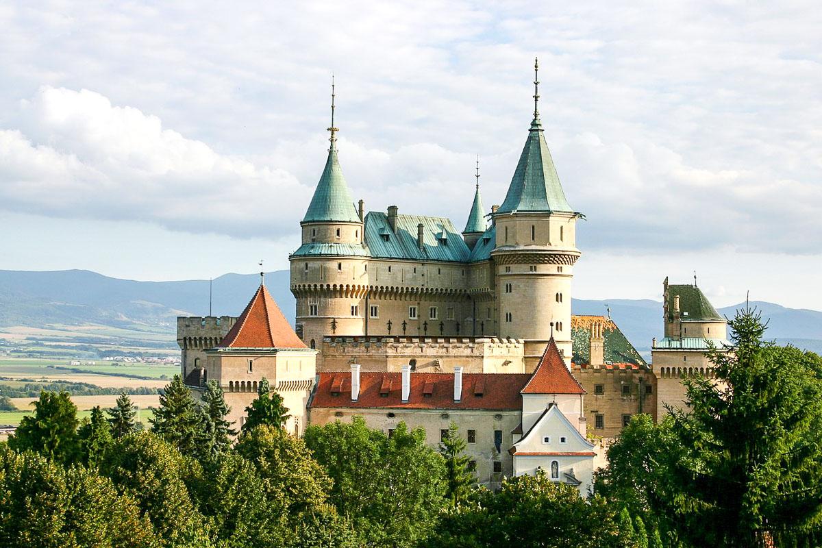 Slovakia nähtävyys linna