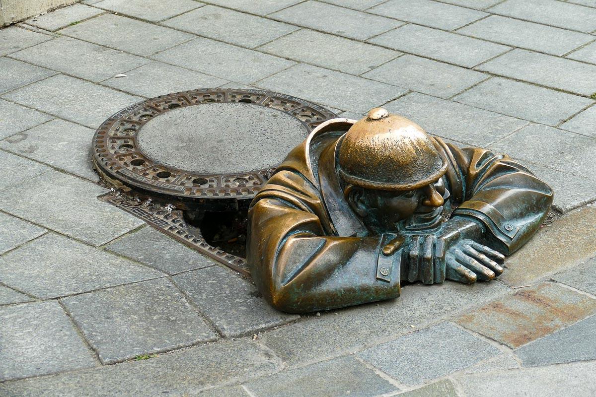 Bratislava patsas