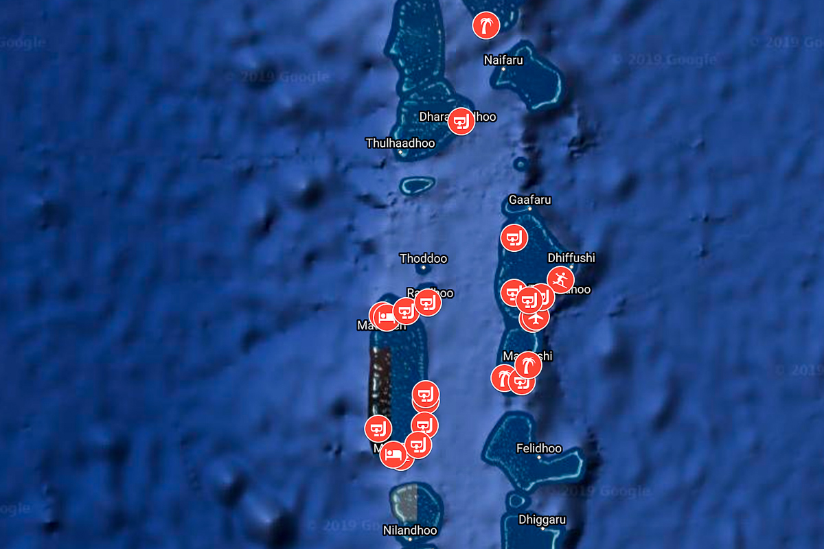Malediivit Kartta Taman Kartan Avulla Loydat Malediivien Parhaat
