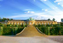 Sanssoucin linna Potsdam Saksa