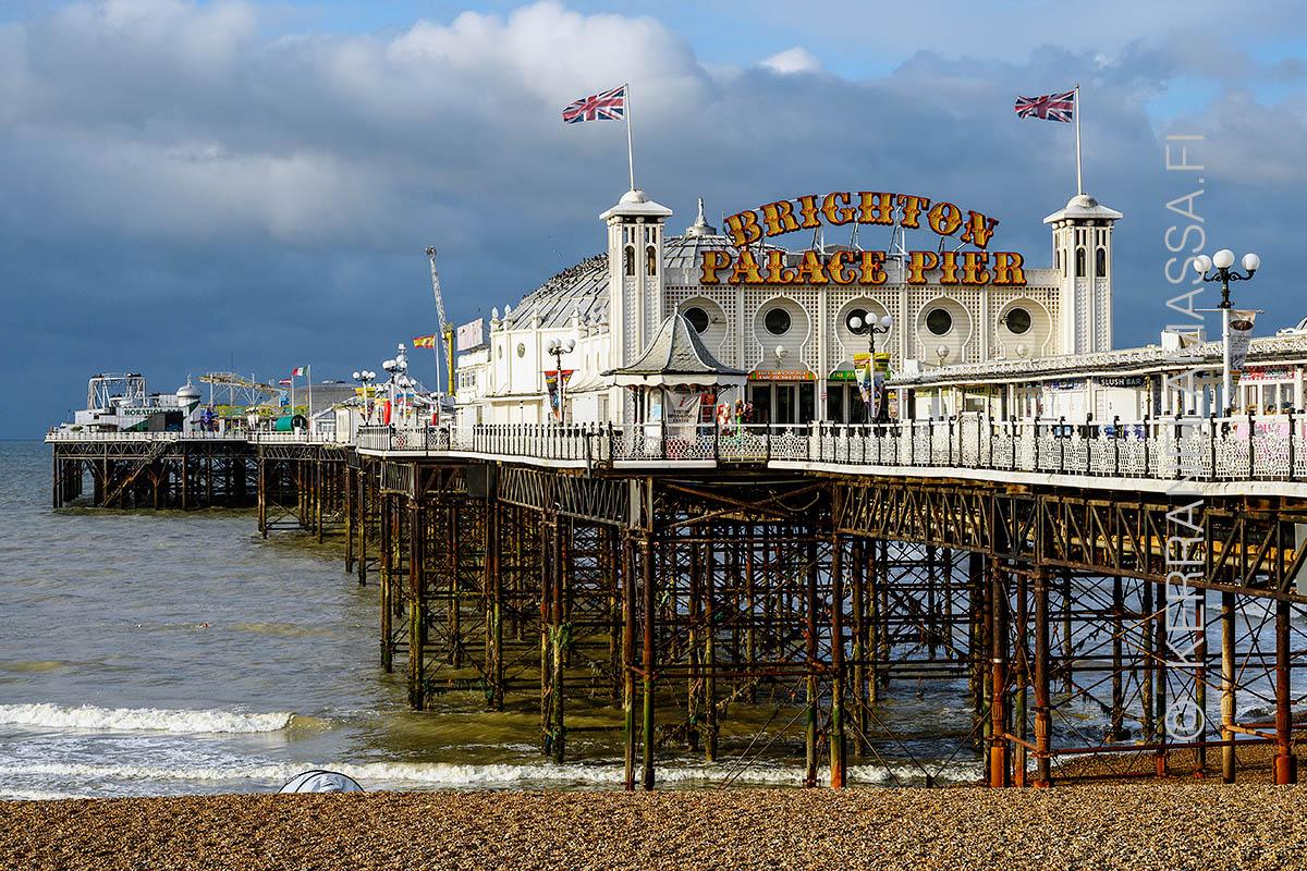 Brighton Englannin Suosituin Rantakohde Kerran Elamassa