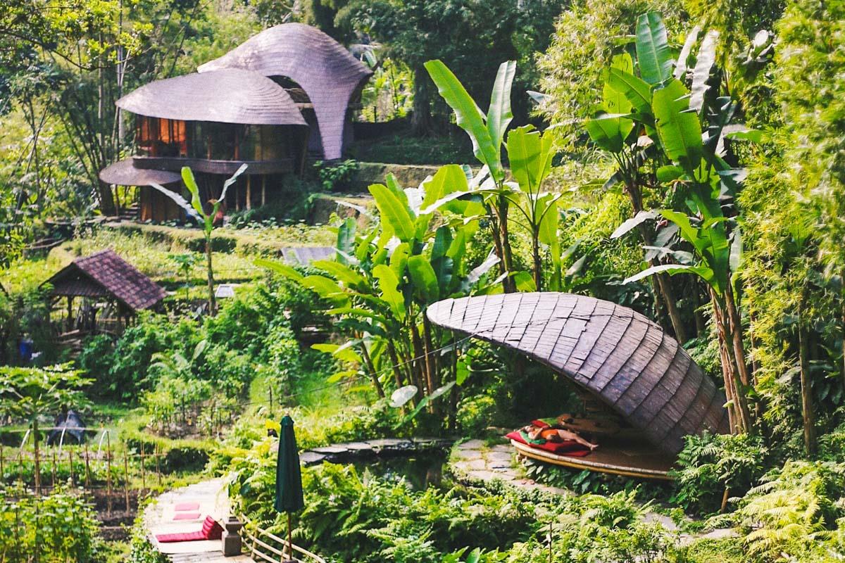 Ubud bambuhotelli