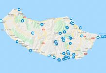 Madeira kartta