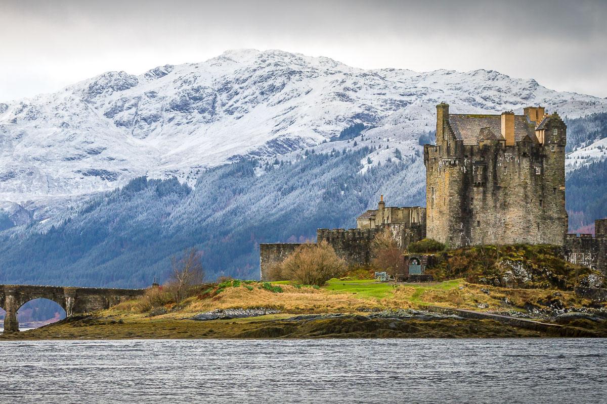 Eilean Donan -linna Skotlanti