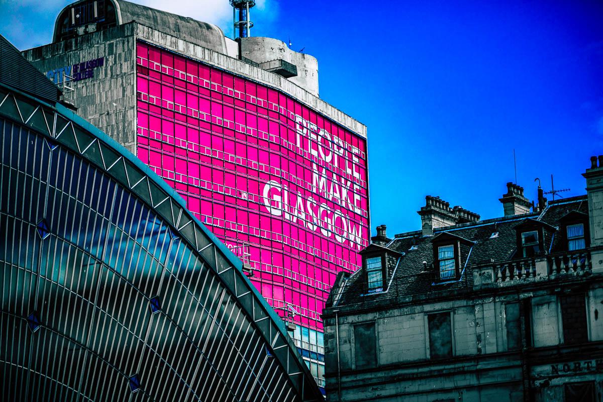 Glasgow juna-asema