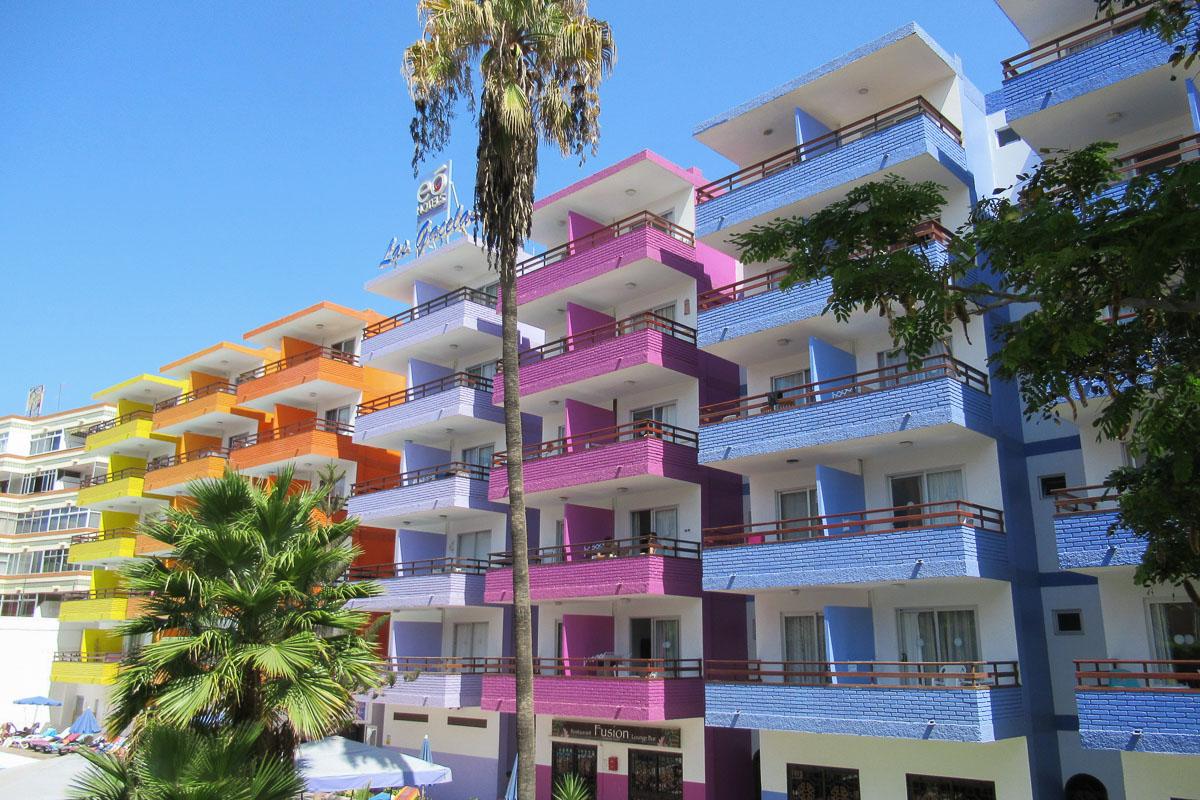 Playa del Ingles hotellit