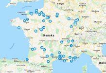 Ranskan kartta