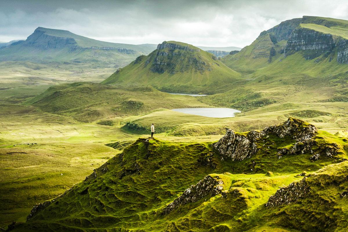 Quiraing vaellus Isle of Skye
