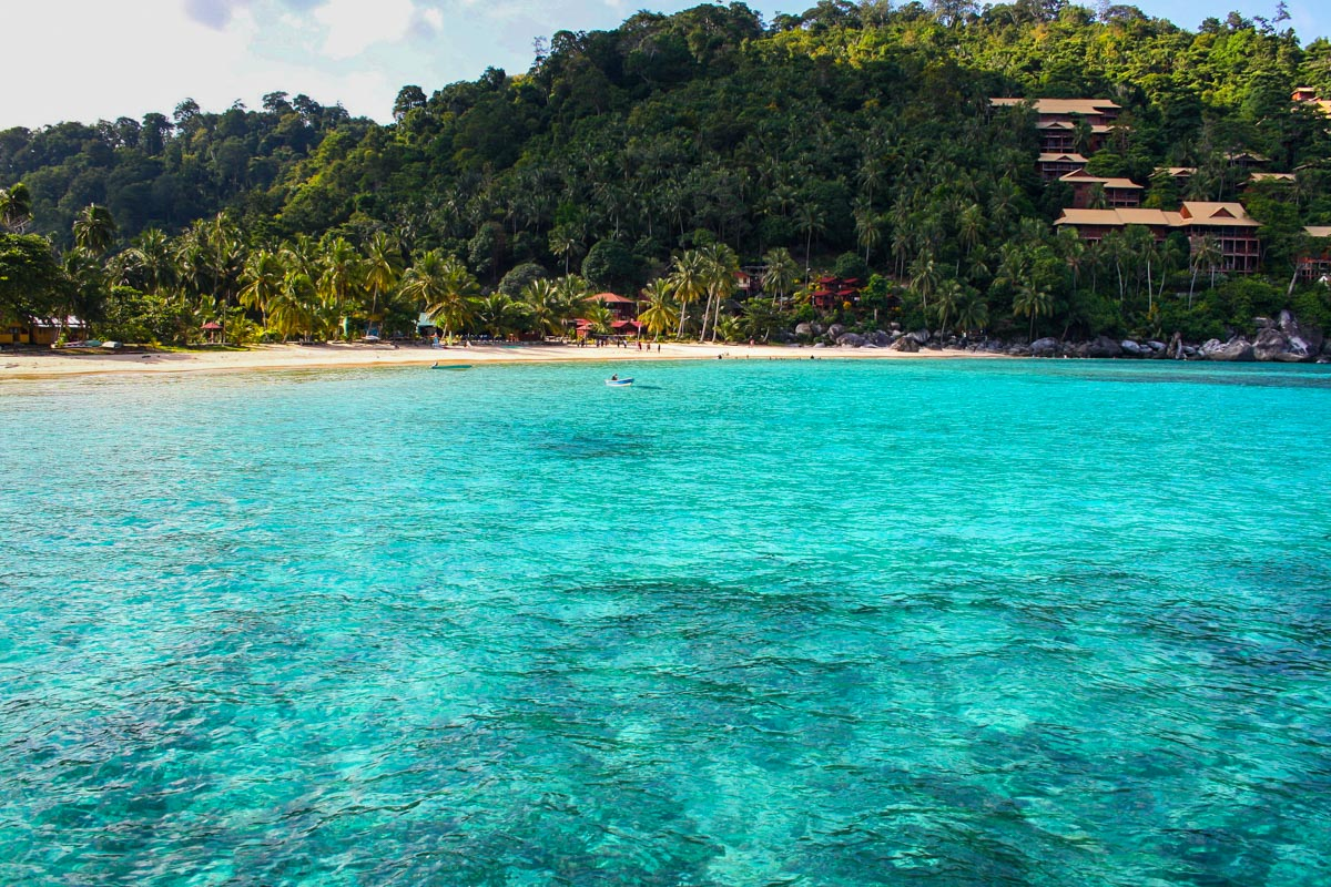 Pulau Tioman paras ranta