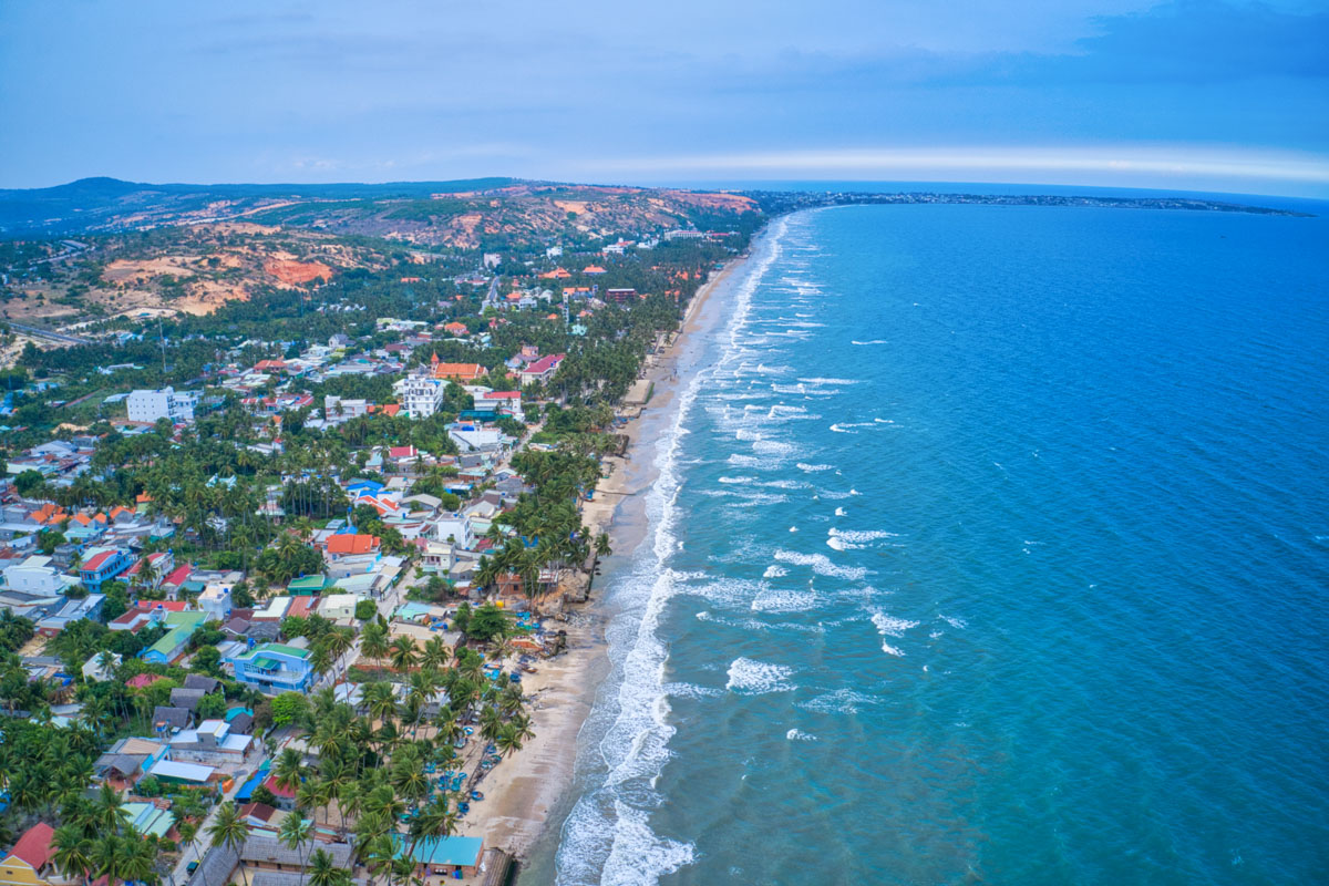 Vietnam Mui Ne Ham Tien