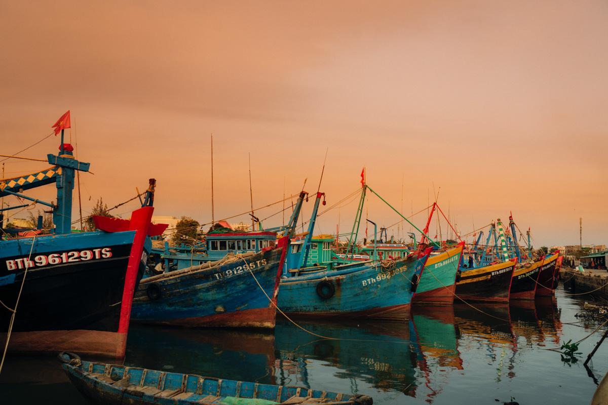 Phan Thiet kalastajat