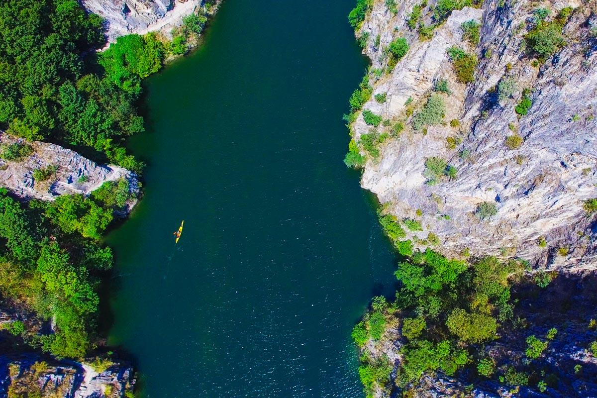 matka kanjoni pohjois-makedonia