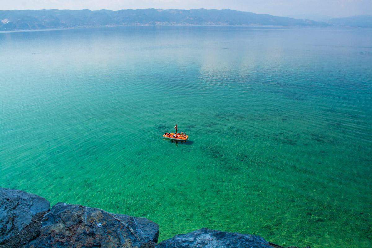 Ohrid järvi Pohjois-Makedonia