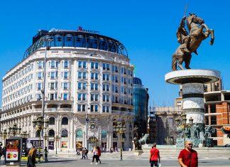 Skopje Aleksanteri Suuri