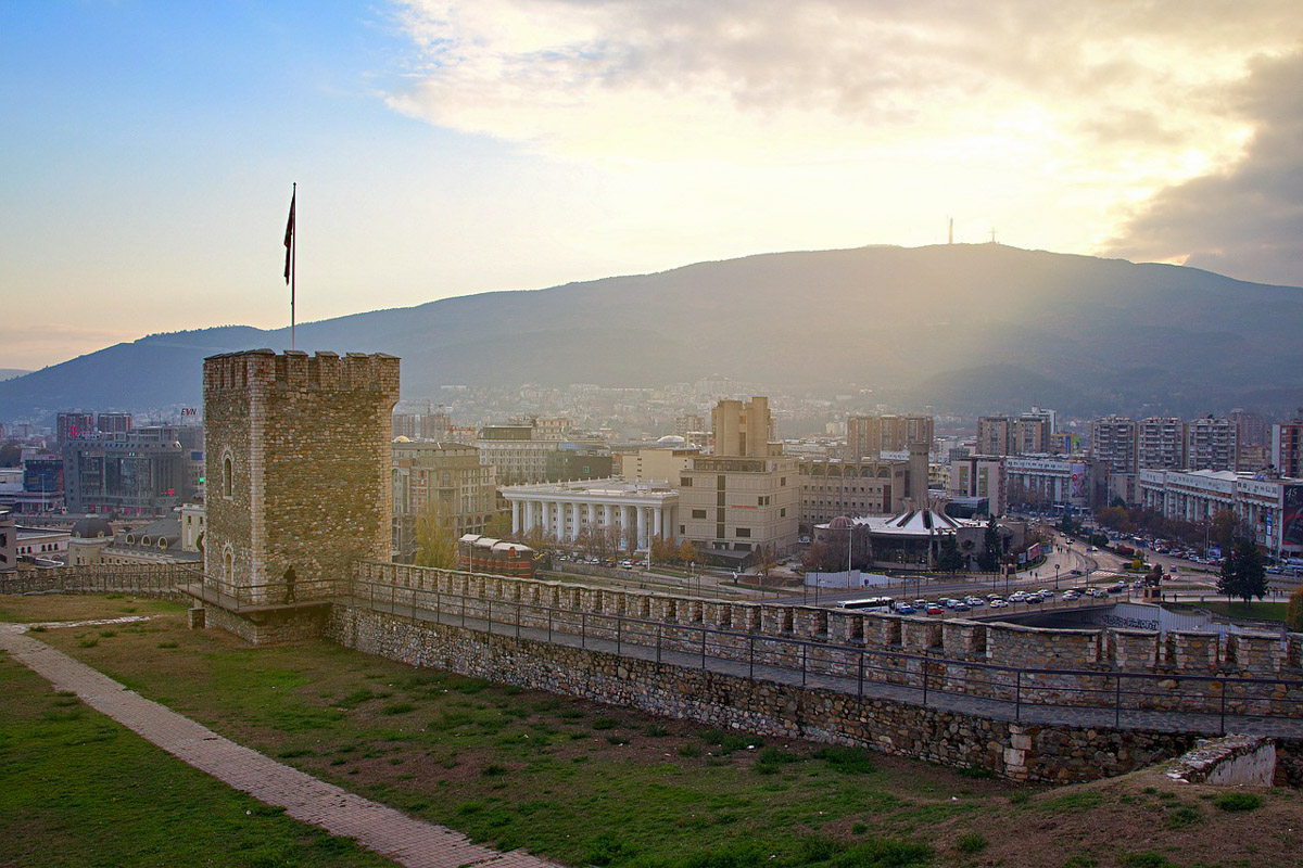 Kale linna Skopje
