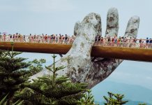 Danang silta Golden Bridge