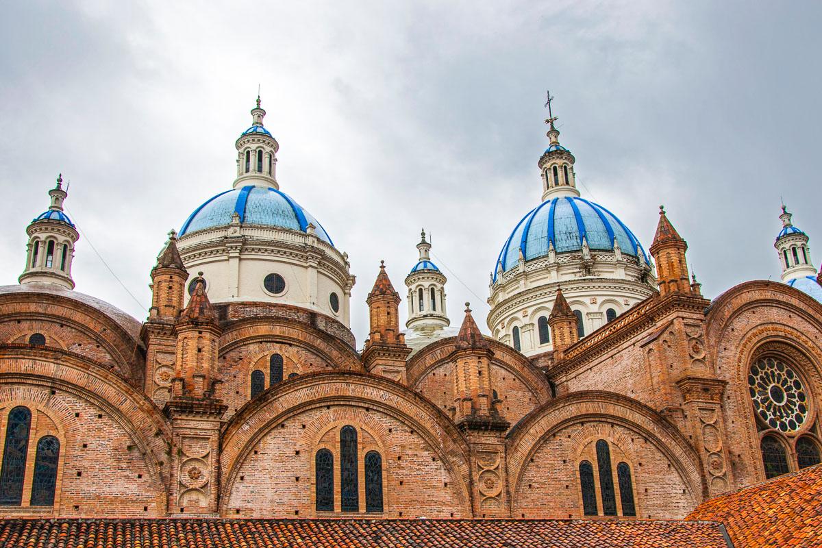 Ecuador vanha kaupunki