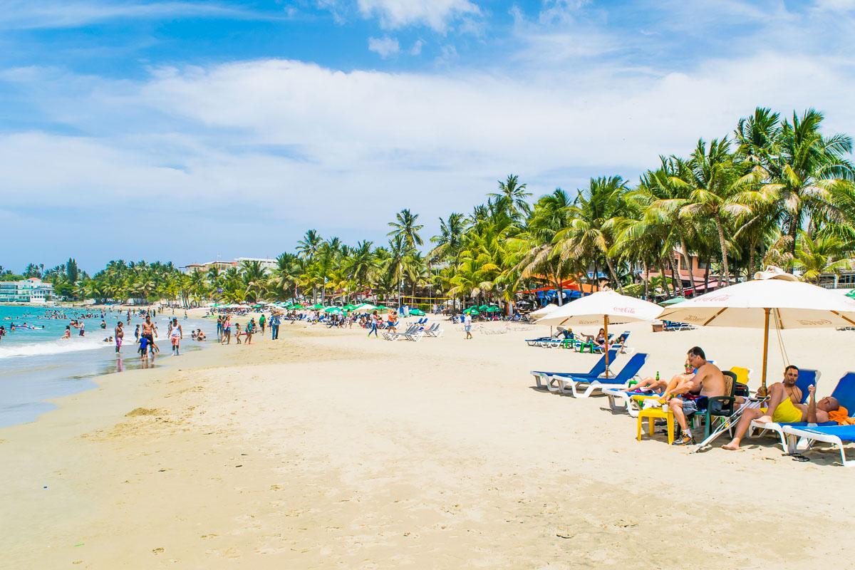 Dominikaaninen tasavalta Cabarete Beach