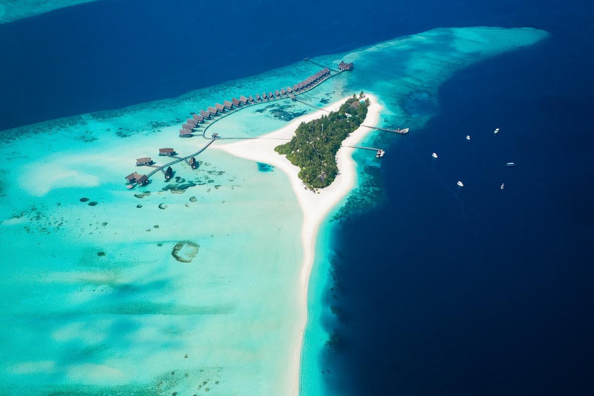 malediivit hotelli como cocoa island