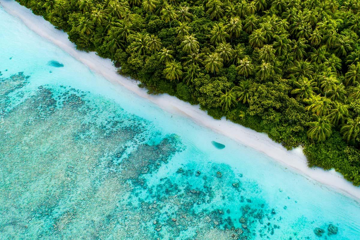 Malediivit Dhigurah saari