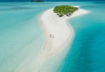 Malediivit edullinen saari Rasdhoo