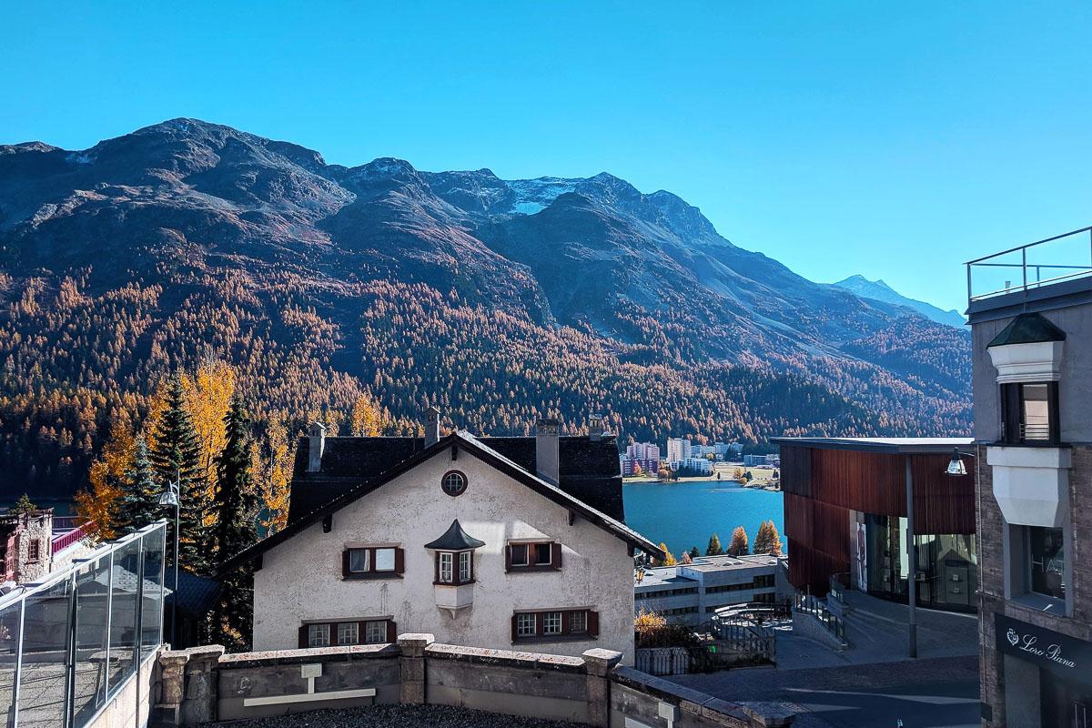 St Moritz syksy
