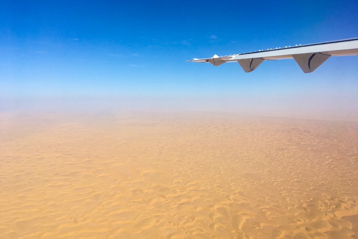 Länsi-Sahara lento