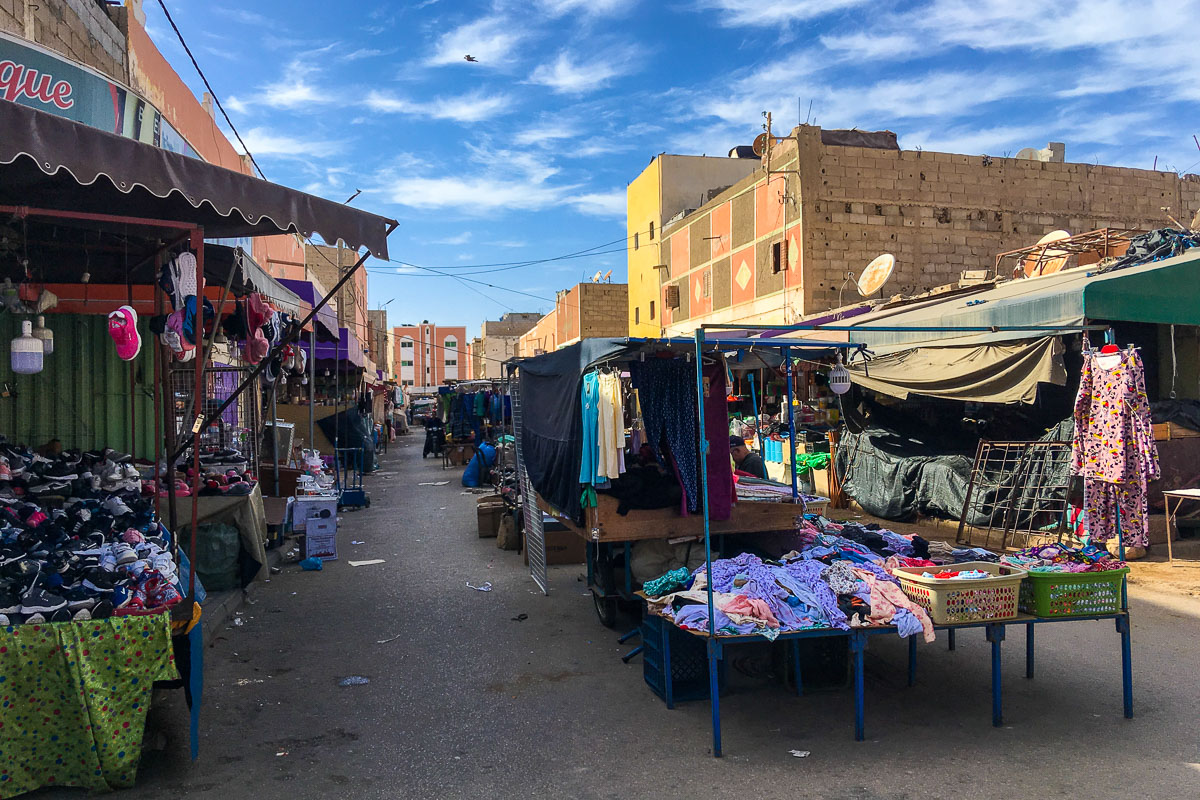 Länsi-Sahara markkinat