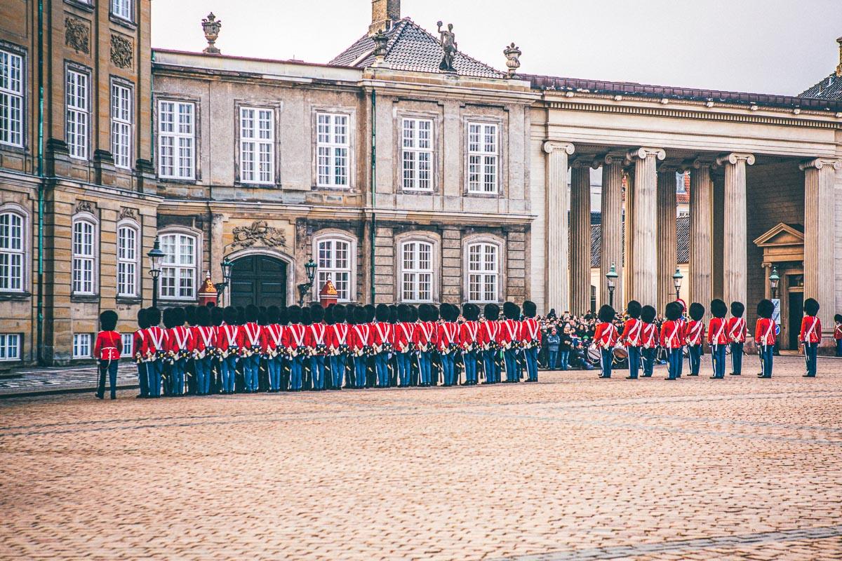 Amalienborgi palatsi Kööpenhamina
