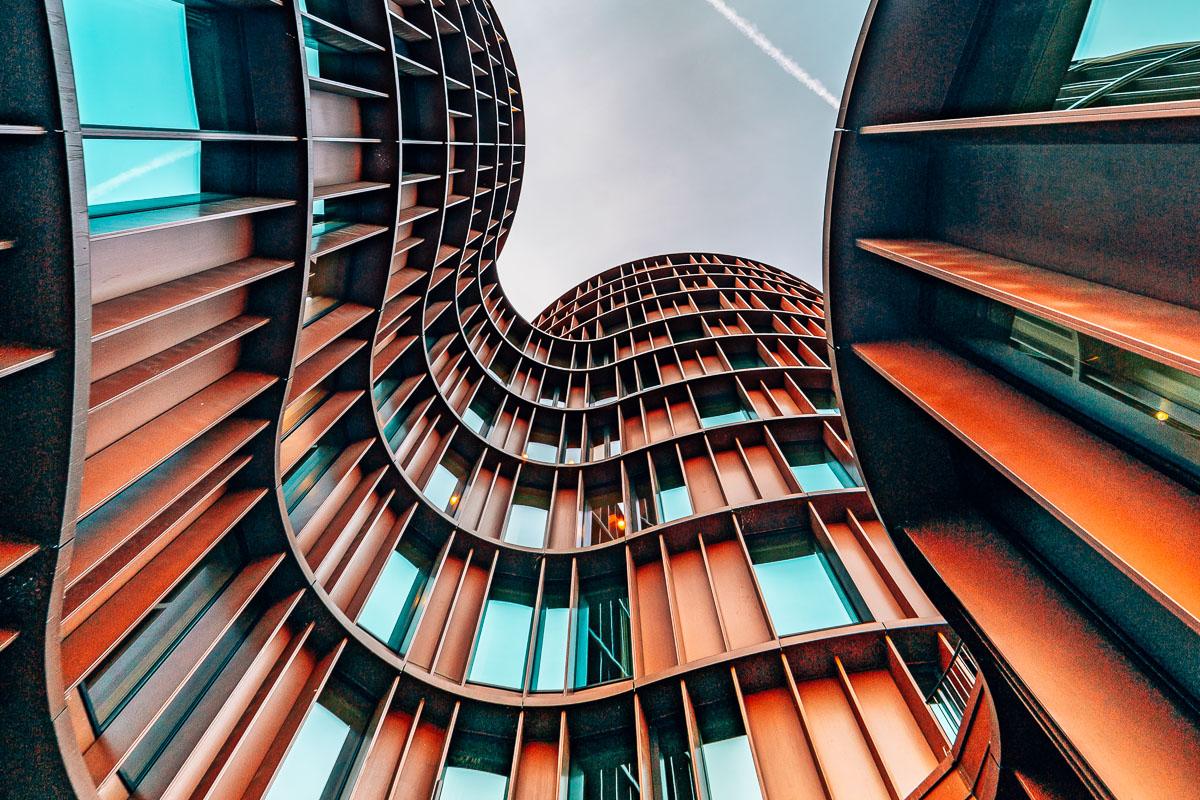 Kööpenhamina moderni rakennus