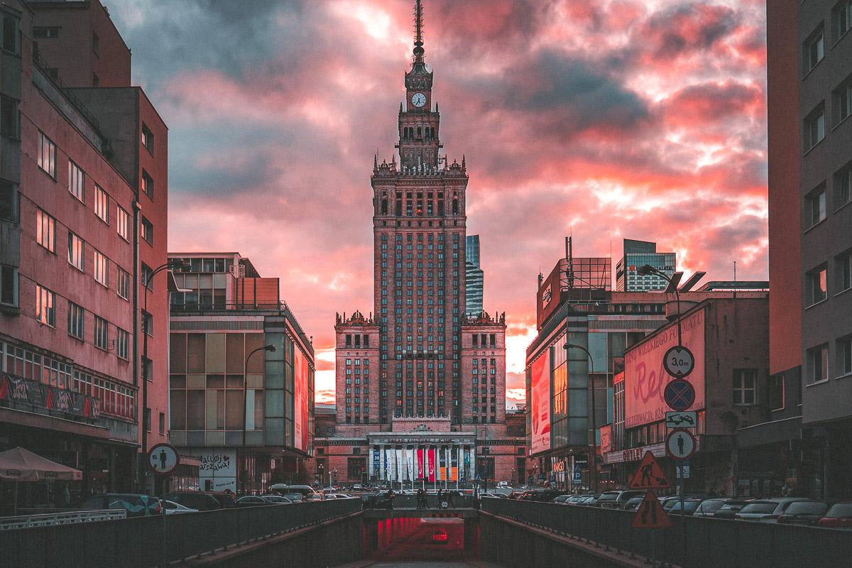 Varsova kaupunginosat keskusta